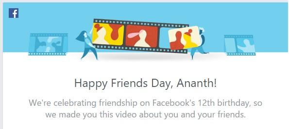 #FriendsDay Ananth