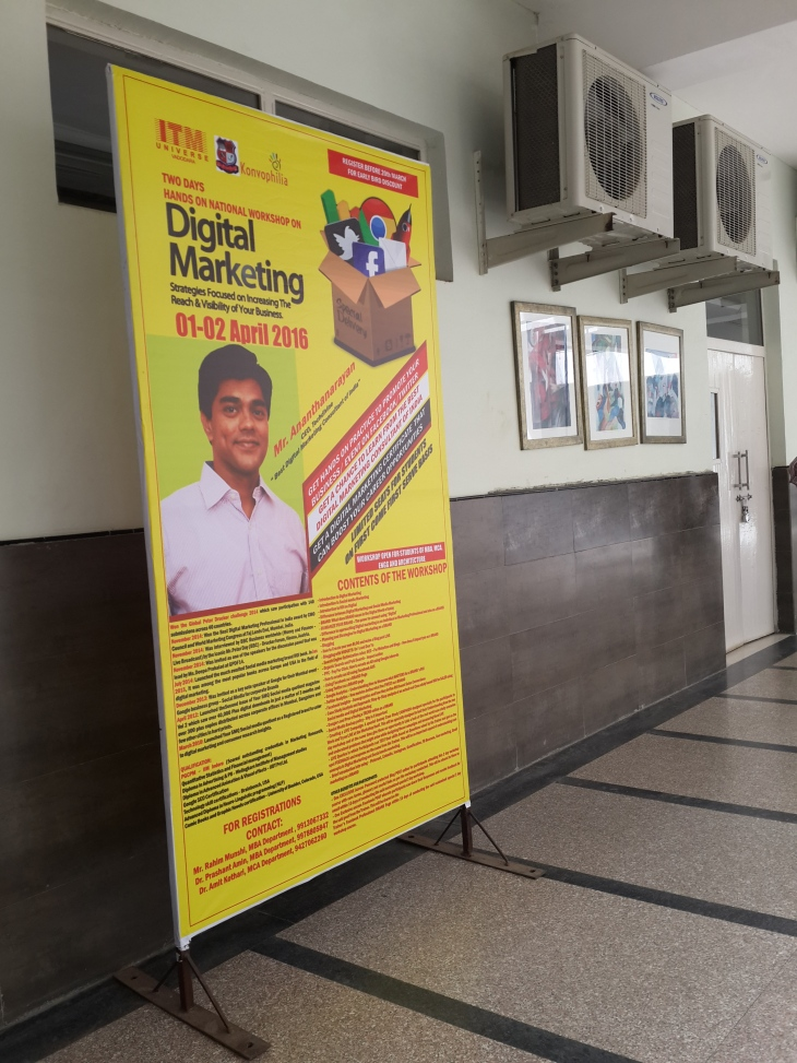 Learn Digital Marketing Social media training course workshop by Ananth V